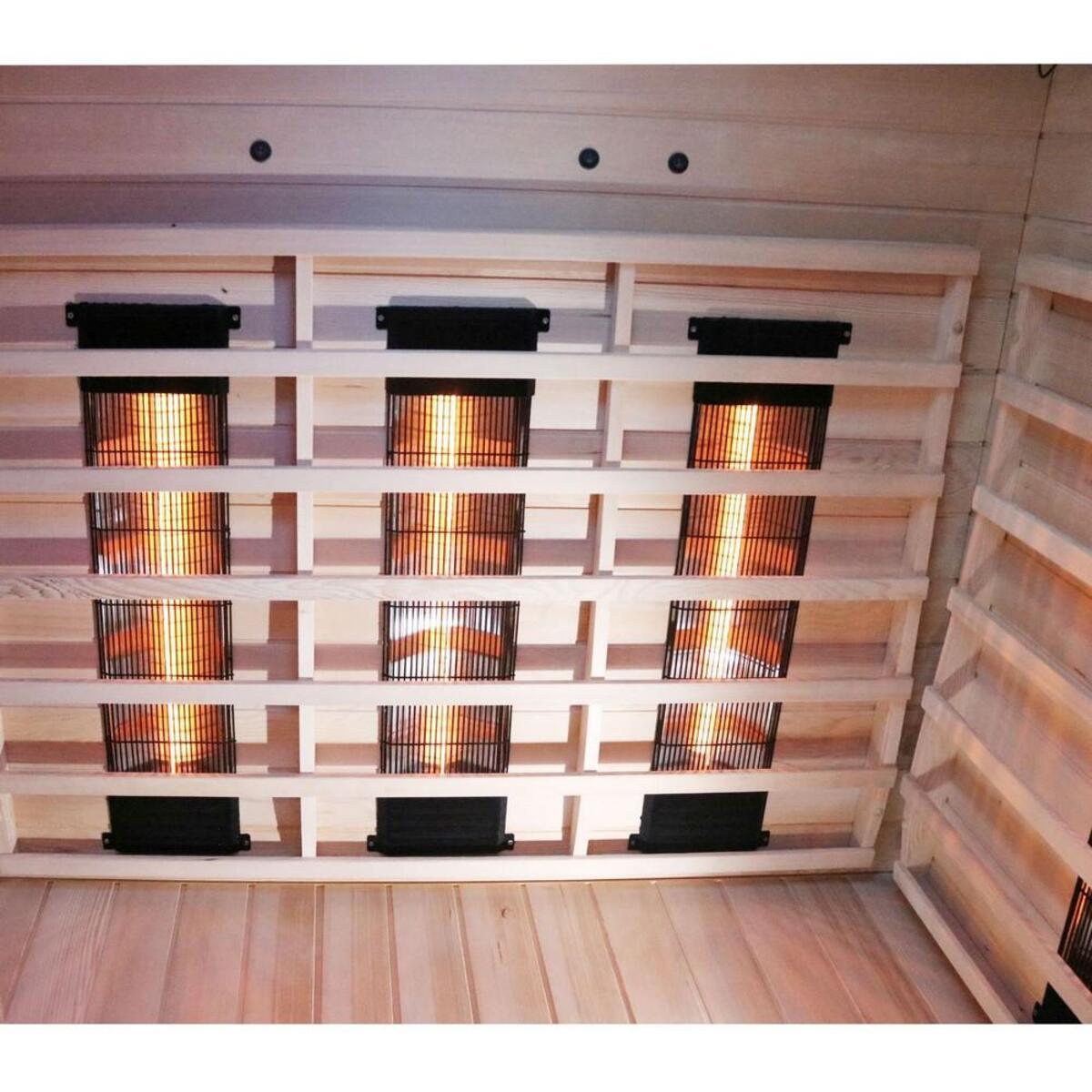 Bild 4 von Dewello Infrarotkabine LAKEFIELD Dual-Therm