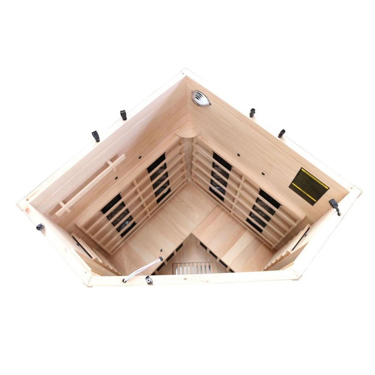 Bild 4 von Dewello Infrarotkabine LAKEFIELD 3 Dual-Therm