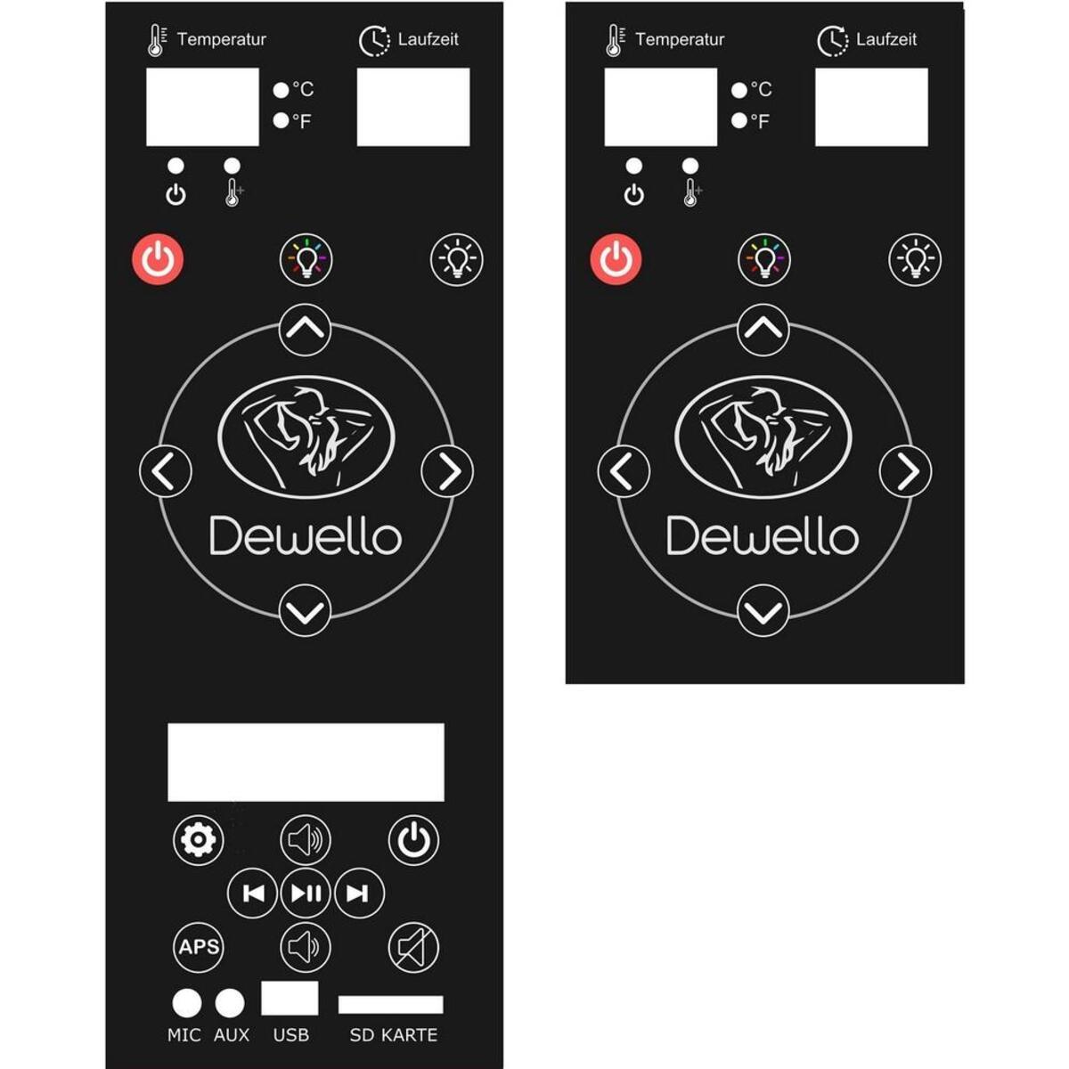 Bild 5 von Dewello Infrarotkabine PIERSON Dual-Therm
