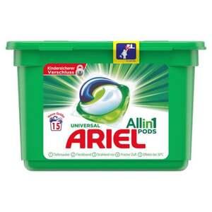 Ariel Universal Allin1 Pods 15 WL 0.31 EUR/1 WL