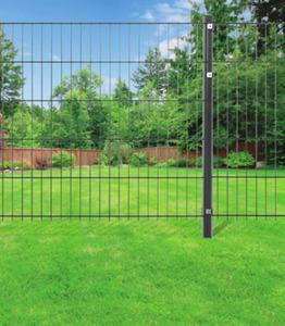 Einstabmatte Zaun