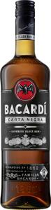 Bacardí Carta Negra Superior Black Rum | 38 % vol | 0,7 l