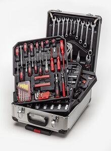 Atrox   Werkzeugkoffer   Trolley 186-teilig