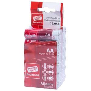 Sonderpreis Baumarkt Batterien LR 6 AA 24 Stück