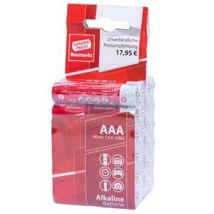 Sonderpreis Baumarkt Batterien LR 03 AAA 24 Stück