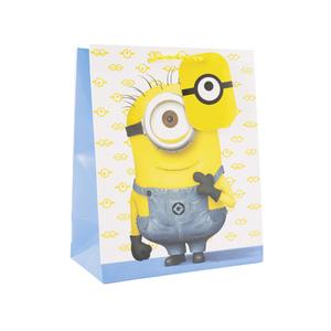 """Geschenktasche L """"Minions"""" 33  x  26,5  x  14,5 cm"""