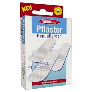 Pflasterstrips 10 Stück senstive hypoallergen