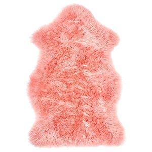 SMIDIE                                Schaffell, gefärbt, rosa