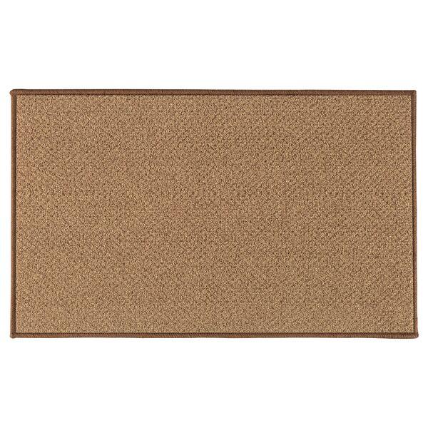 BIERSTED                                Fußmatte, drinnen/draußen natur, 50x80 cm