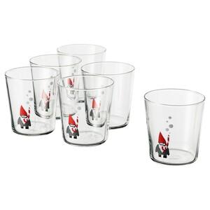VINTERFEST                                Glas, Klarglas, Weihnachtsmann, 30 cl