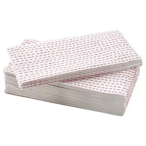 VINTERFEST                                Papierserviette, weiß/rot, 38x38 cm
