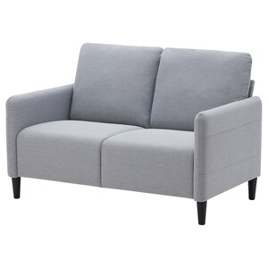 ANGERSBY                                2er-Sofa, Knisa hellgrau