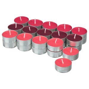 VINTERFEST                                Teelicht, duftend, Ingwerkekse rot, rot