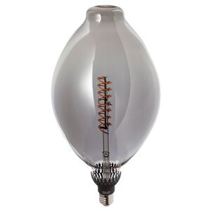 ROLLSBO                                LED-Leuchtmittel E27 200 lm, dimmbar ballonförmig, graues Glas, 180 mm