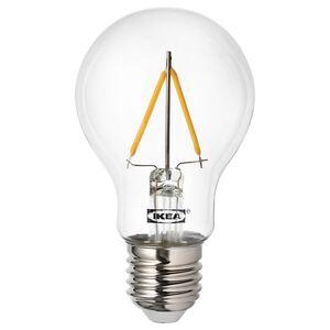 RYET                                LED-Leuchtmittel E27 100 lm, rund klar