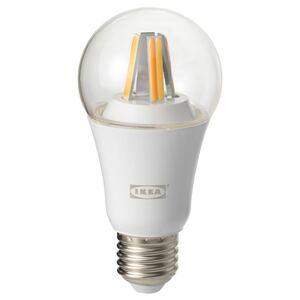 TRÅDFRI                                LED-Leuchtmittel E27 806 lm, kabellos dimmbar, Weißspektrum klar