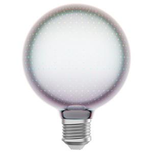 GAMSEBO                                LED-Leuchtmittel E27 14 lm, rund Glas, 95 mm