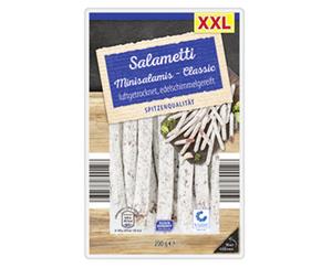XXL-Salametti Minisalamis