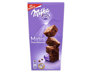 Milka Mini Choco Brownies