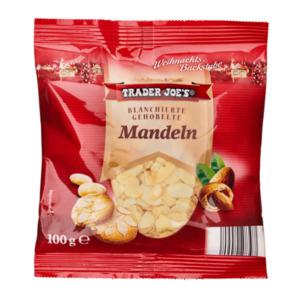 TRADER JOE'S     Mandeln