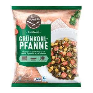 LA FINESSE     Grünkohl-Pfanne