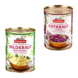 KLOSTERGARTEN     Straßburger Mild- / Rotkraut