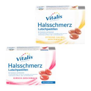 VITALIS     Halsschmerz Lutschpastillen