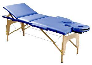SPORTPLUS SP-MAS-001-K Mobile Massageliege aus Hartholz