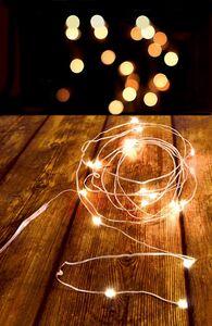 Dekor LED Lichterdraht, 50 LEDs