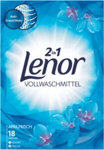 Lenor Vollwaschmittel Pulver Aprilfrisch 18 WL