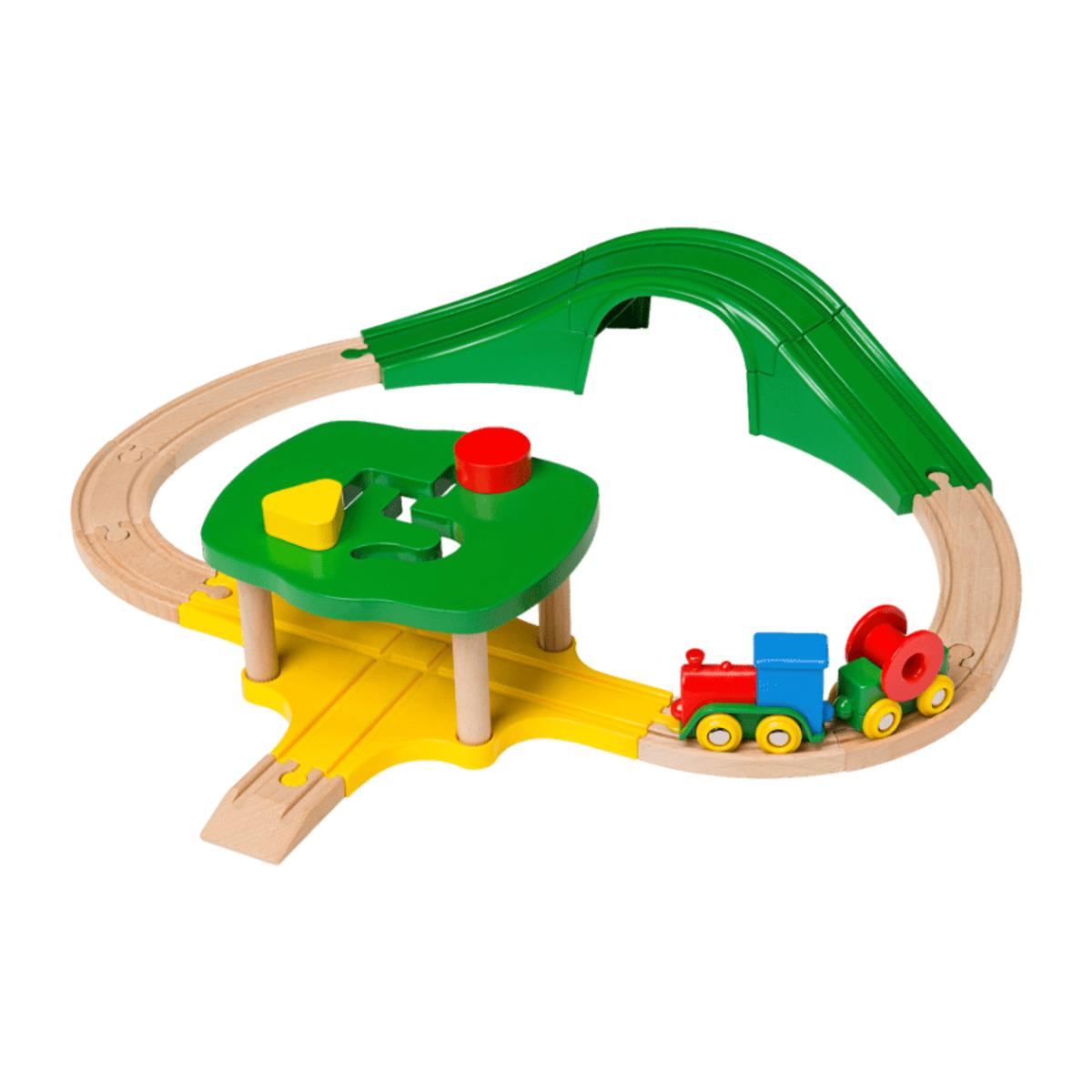 Bild 4 von PLAYLAND     Meine erste Holz-Eisenbahn