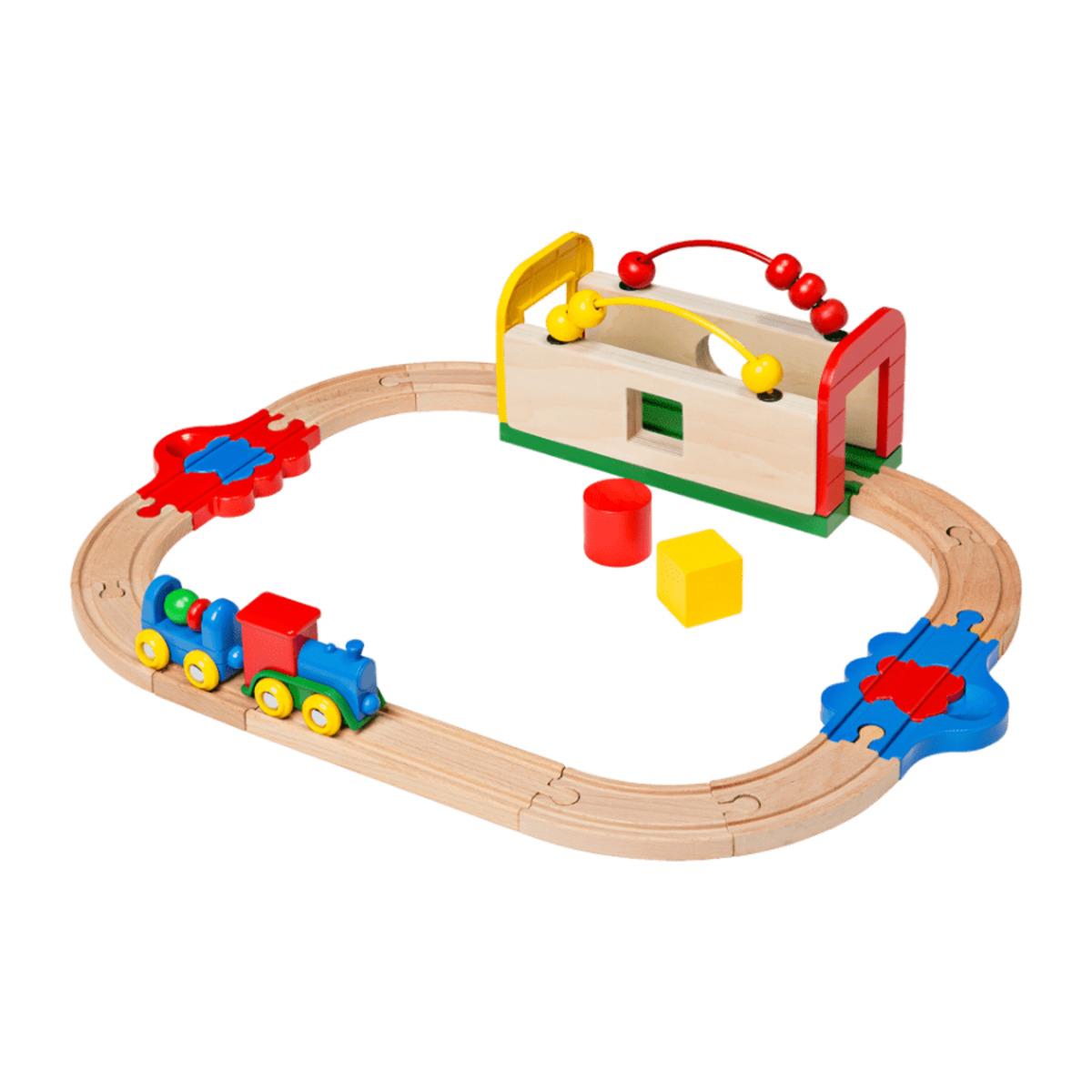 Bild 5 von PLAYLAND     Meine erste Holz-Eisenbahn