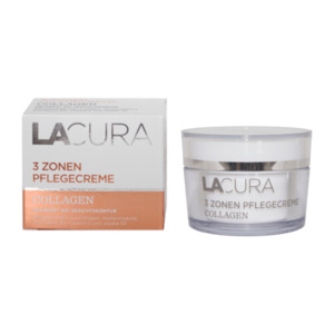 LACURA  	   Collagen 3 Zonen Pflegecreme