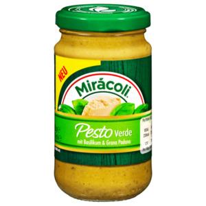 Mirácoli Pesto Verde Basilikum+Grana Padano 180g