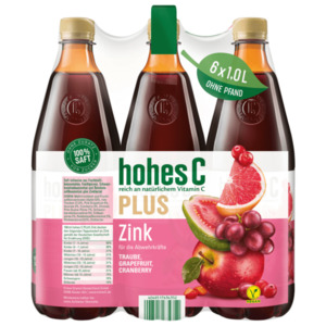 Hohes C Plus Zink 6x1l