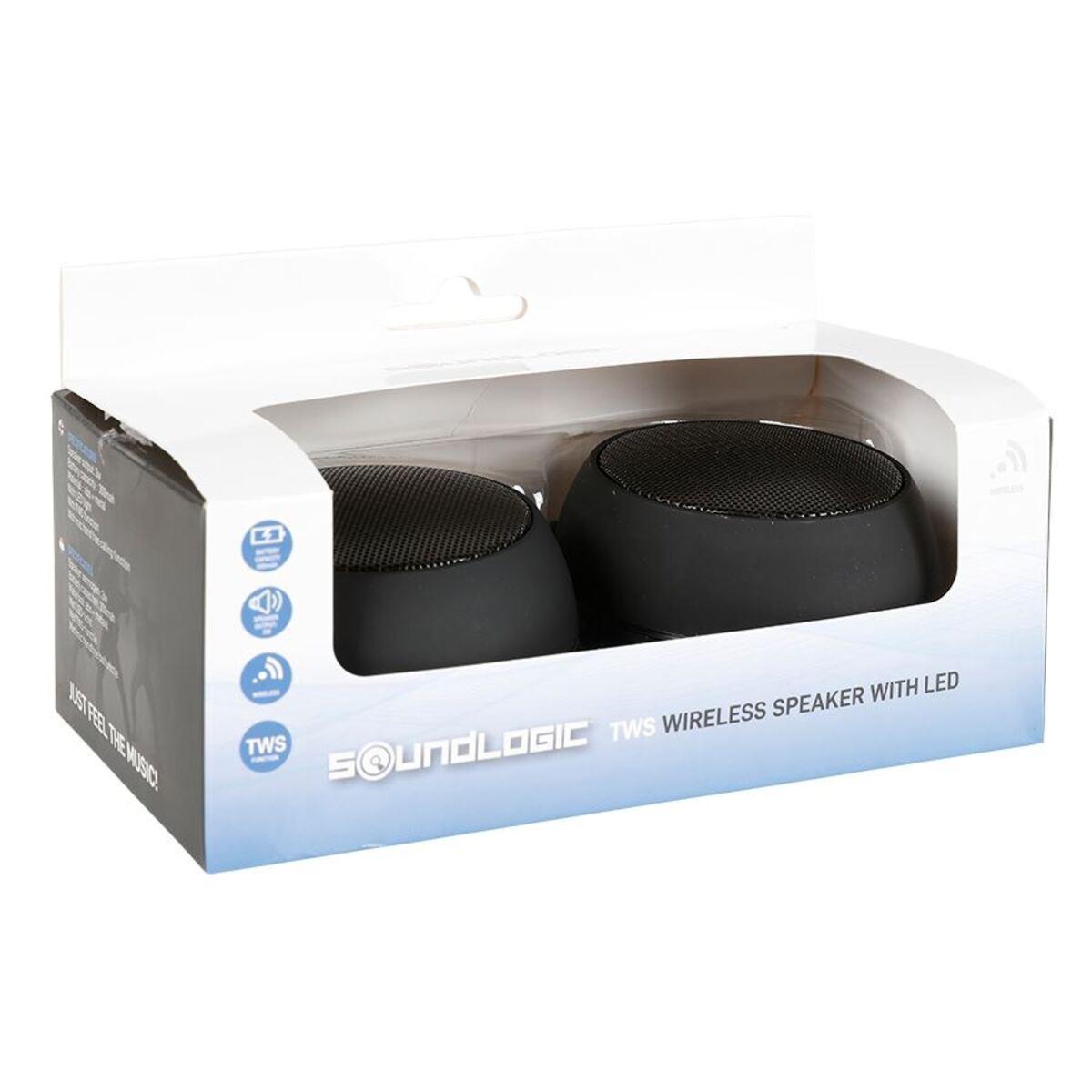 Bild 4 von Soundlogic Twin Lautsprecher 80079 mit LED-Beleuchtung