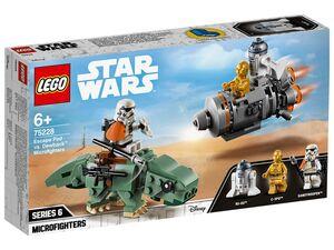 LEGO® Star Wars 75228 Escape Pod vs. Dewback™ Microfighters