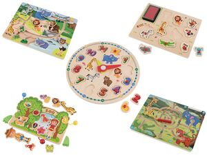 PLAYTIVE® JUNIOR Lernpuzzle