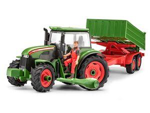 Revell Traktor & Anhänger inklusive Figur