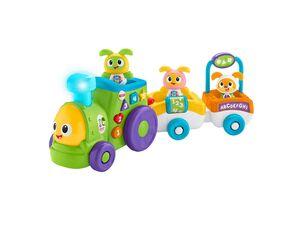 Fisher-Price Tanzspaß BeatBo Zug, Baby-Spielzeug, Krabbel-Hilfe, Lernspielzeug