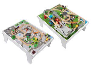 PLAYTIVE® JUNIOR Spieltisch Bahnwelt, 89-teilig