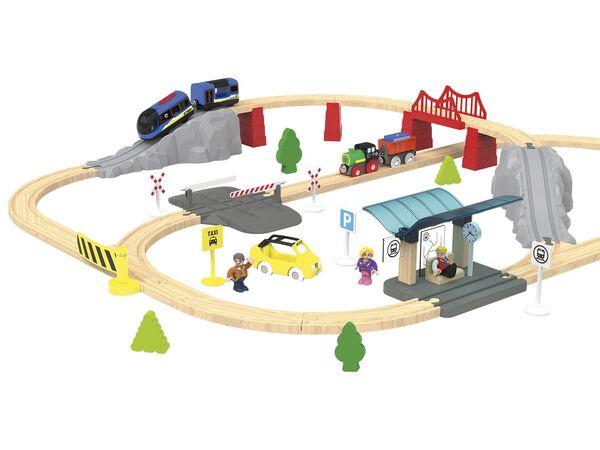 PLAYTIVE® JUNIOR Eisenbahnset