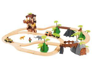 PLAYTIVE® JUNIOR Eisenbahnset Dschungel