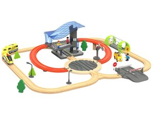PLAYTIVE® JUNIOR Holzeisenbahn Future