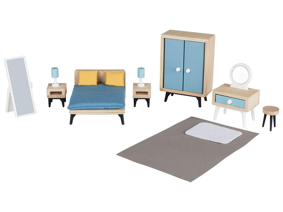 Bild 5 von PLAYTIVE® JUNIOR Puppenset/Puppenhaus-Möbelset