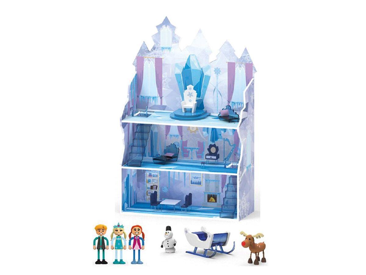 Bild 2 von PLAYTIVE® JUNIOR Puppenhaus Eisprinzessin + Ritterburg