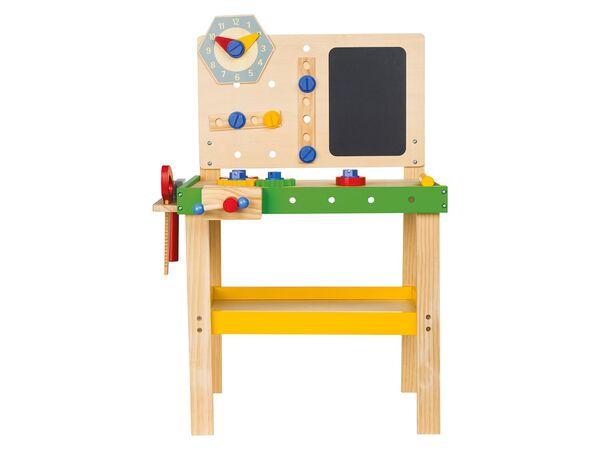 Playtive Junior Holzspielzeug Werkbank Putzwagen Von Lidl Ansehen