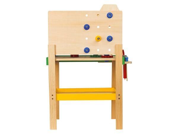 PLAYTIVE® JUNIOR Holzspielzeug Werkbank/Putzwagen von Lidl ...