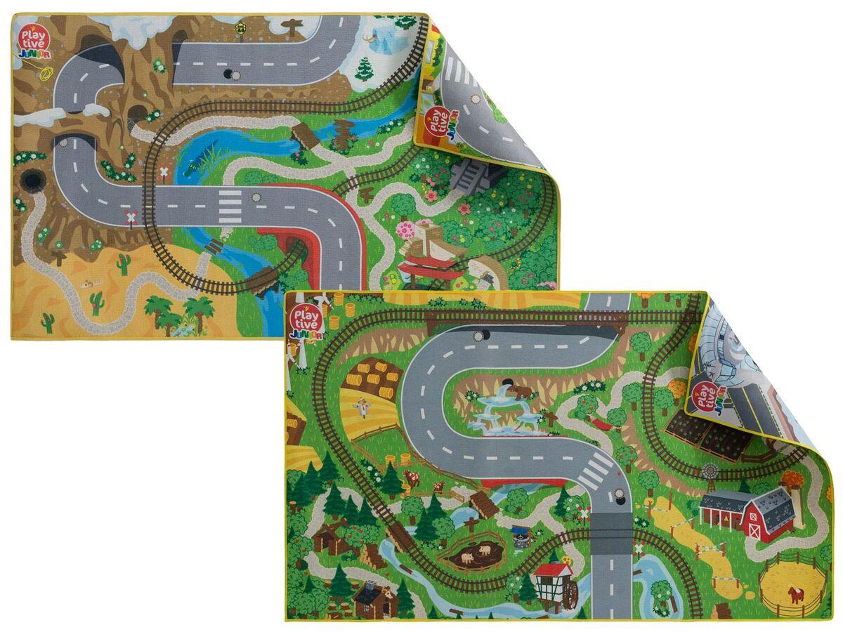 Bild 1 von PLAYTIVE® JUNIOR Spielmatten, beidseitig bedruckt