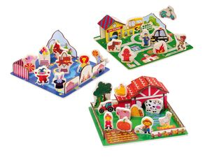 PLAYTIVE® JUNIOR 3D Steckpuzzle